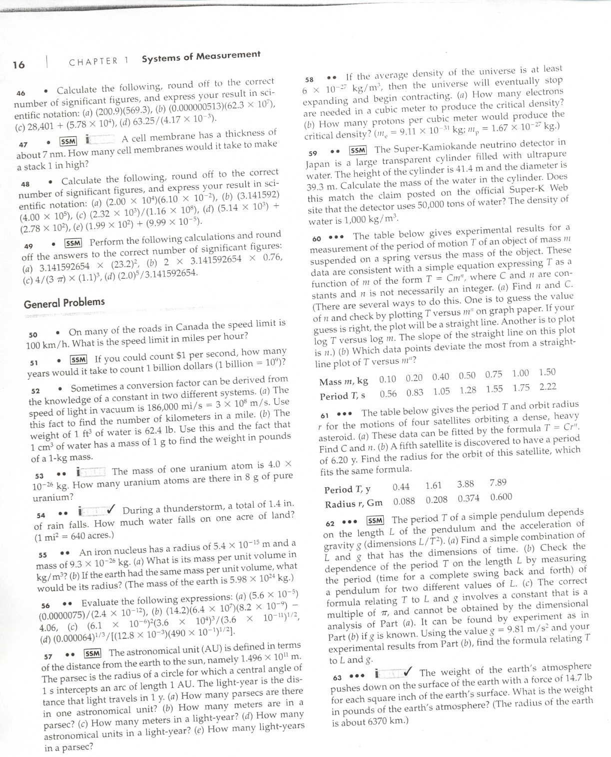 Dimensional analysis science homework – Unit Analysis Worksheet