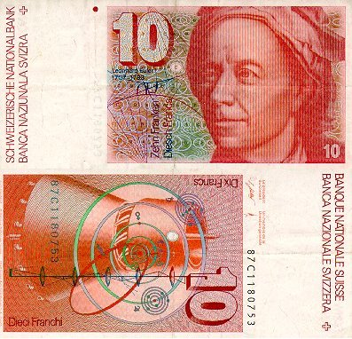 Leonhard Euler on Leonhard Euler 1707 1783 El Fisico Y Matematico Suizo Aparecio En Los